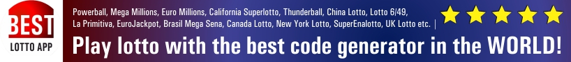 Play lotto with the best code generator in the WORLD!