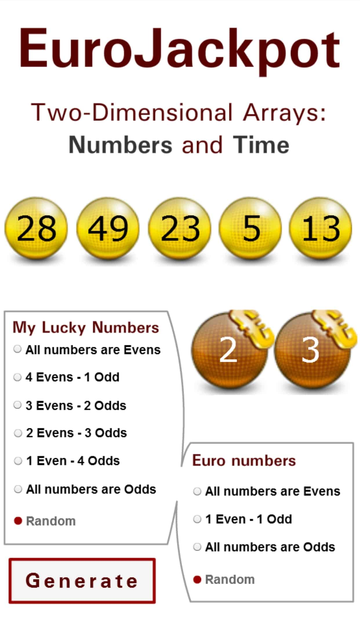 EuroJackpot - Results, Tips & Winning Numbers