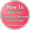 Lottery numbers - How To Boost Your Chances Of Winning Lottery Game