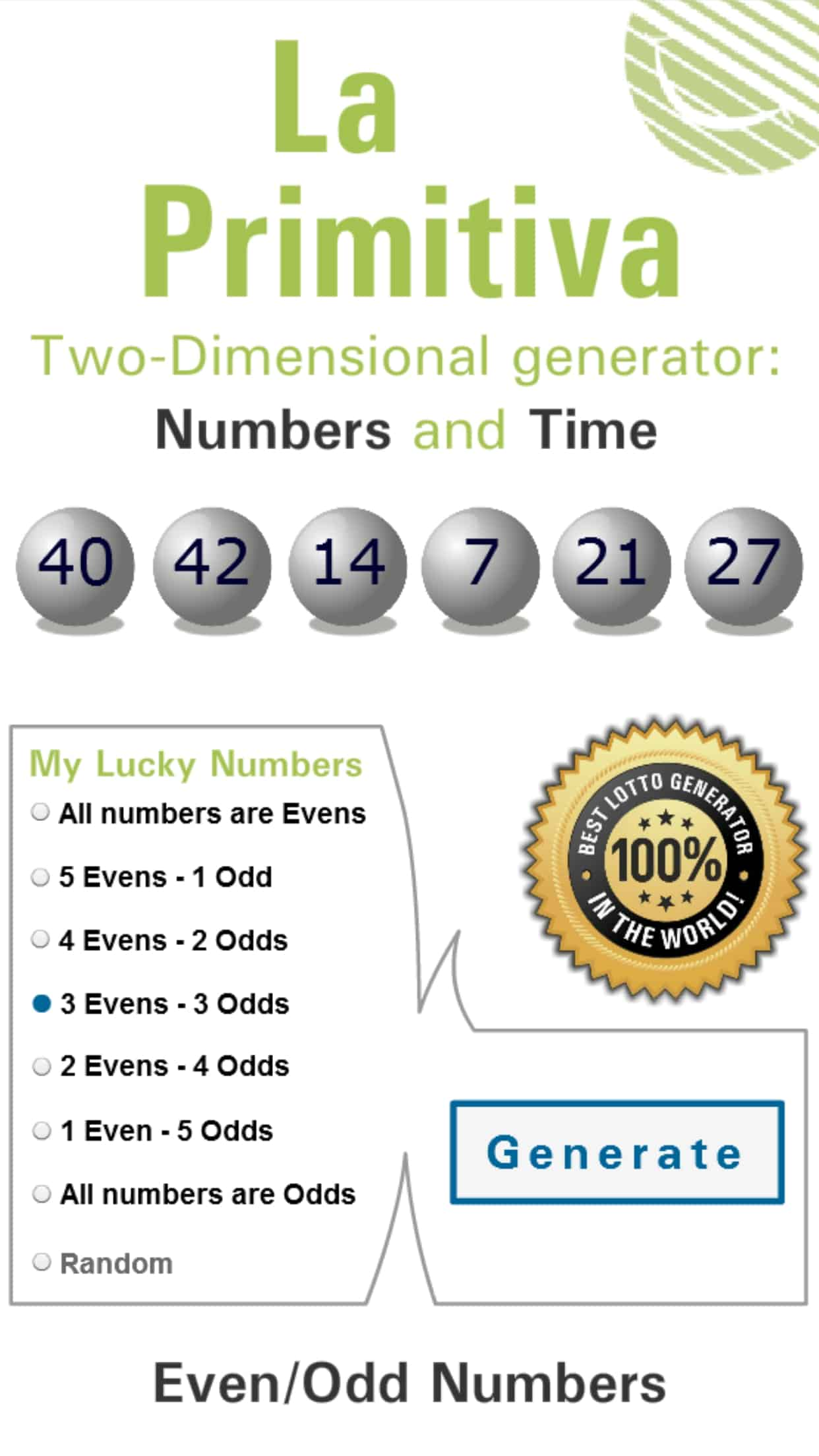 La Primitiva - Spanish Lottery | Results, Tips & Winning Numbers