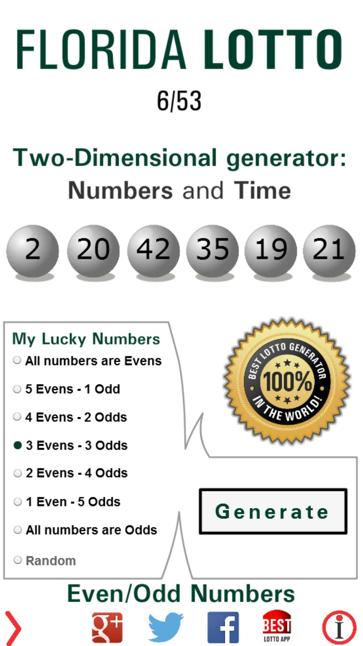 Free Lotto Winning Numbers