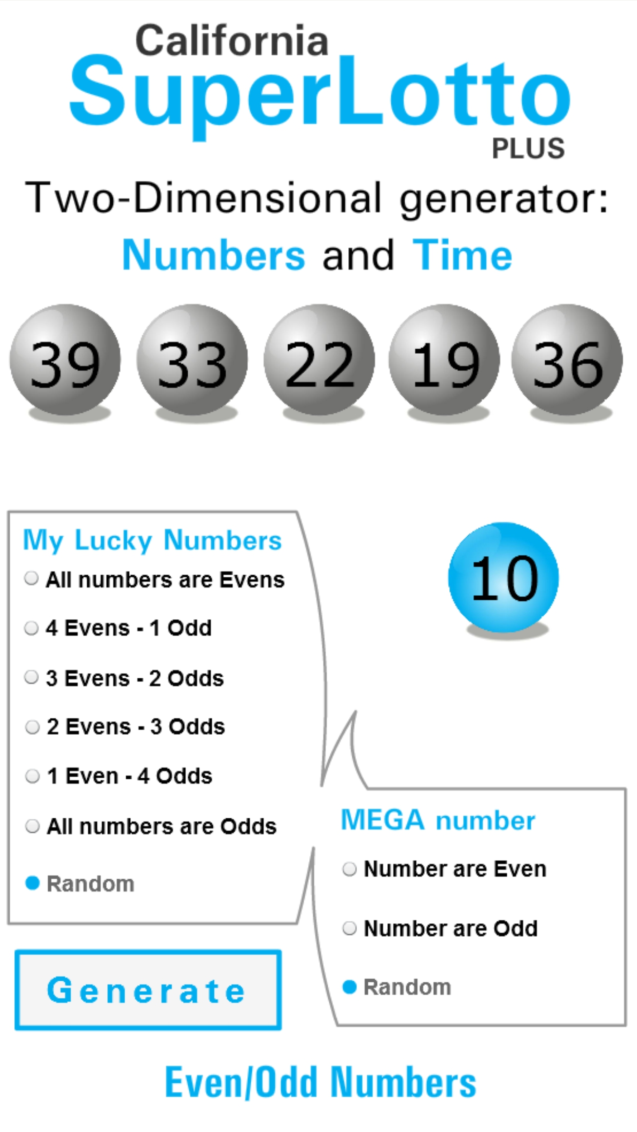 Super Lotto Winning Numbers