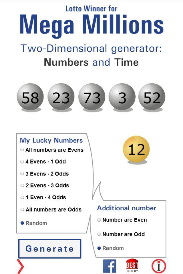 Lotto Winner for Mega Millions | Mega Millions, Mega Millions numbers