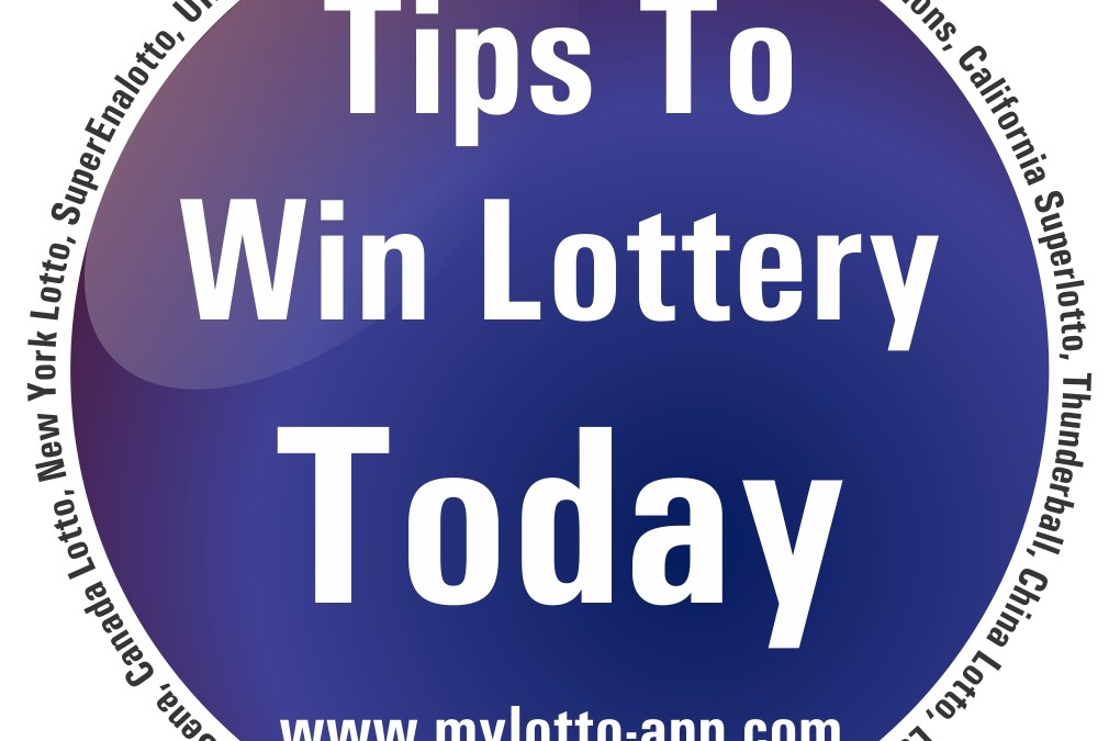5 Tips To Win Lottery Today