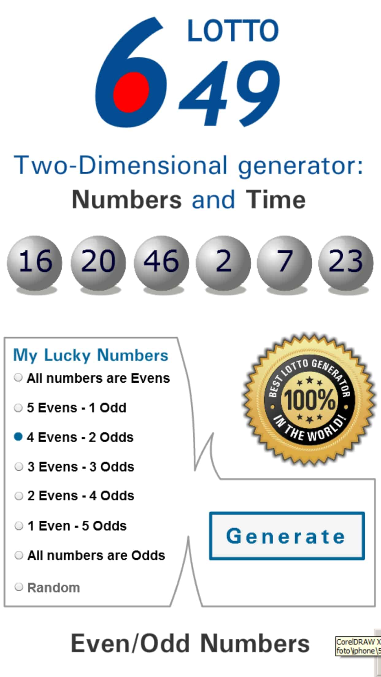 Lotto Winner for Canada Lottery 649  – Winning Numbers, Results & Tips for Canada numbers 6/49 lotto