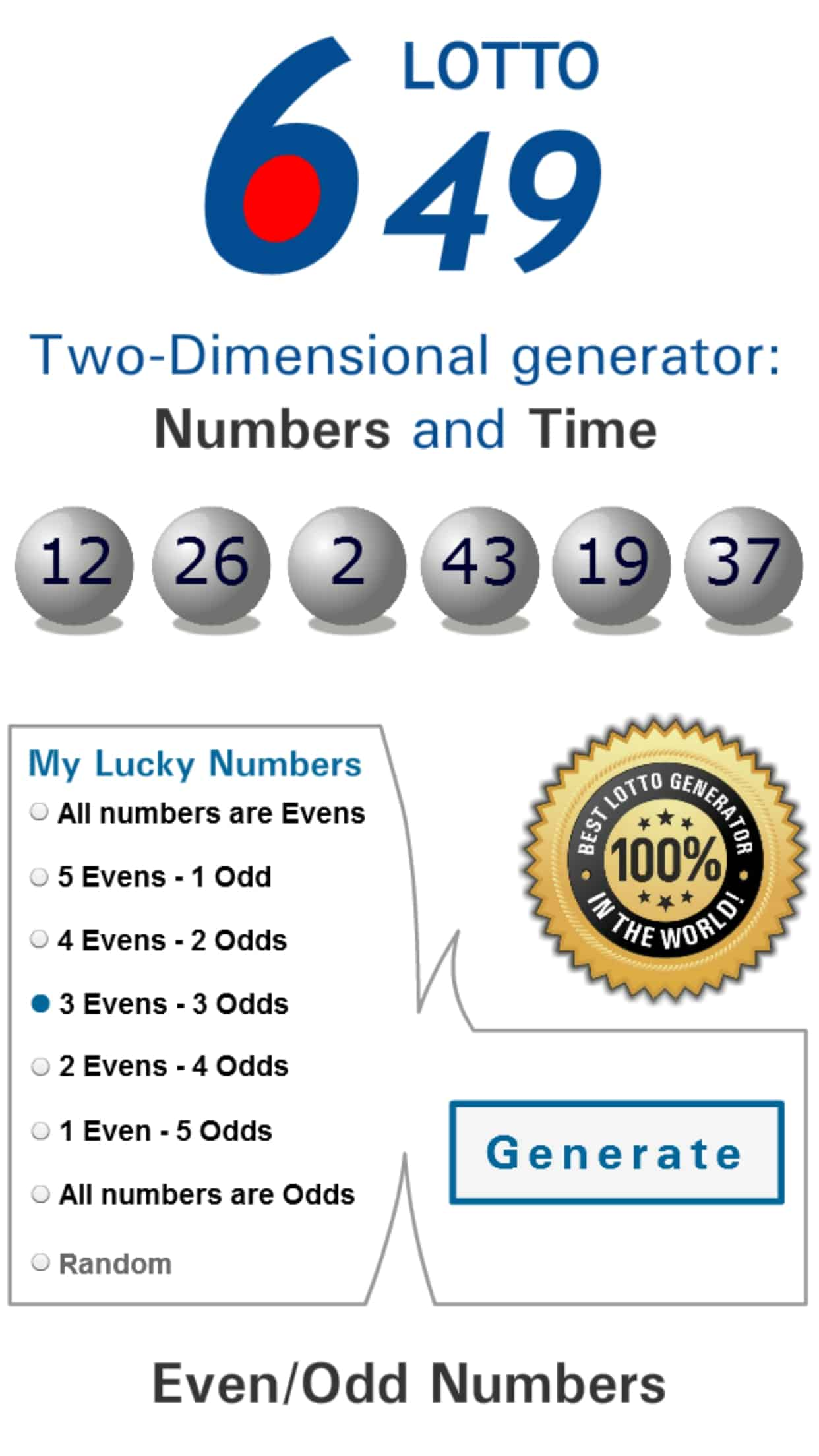 Best Lotto 649 Numbers To Pick