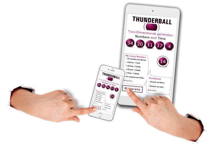 app,Thunderball |The National Lottery| Results, Tips, Winning Numbers