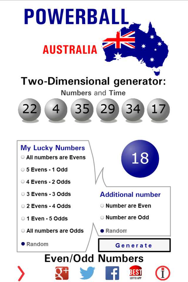 Powerball Lotto Nsw